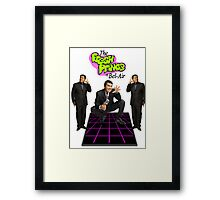 the fresh prince of mexican comedy Framed Print