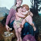 Saint Family after W. Bouguereau by Hidemi Tada