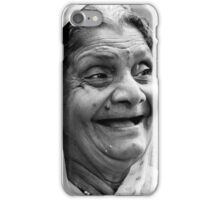Enjoying a Laugh iPhone Case/Skin