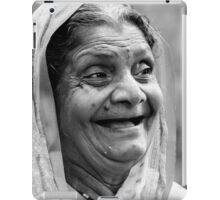 Enjoying a Laugh iPad Case/Skin