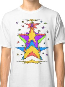 Abstract stars Classic T-Shirt