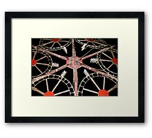 Catherine Wheel Framed Print