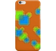 Abstract pixels iPhone Case/Skin