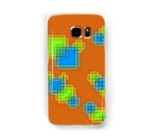 Abstract pixels Samsung Galaxy Case/Skin