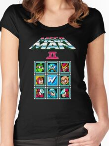 Megaman 2 Women's Fitted Scoop T-Shirt