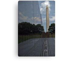 Washington Monument and Vietnam War Memorial Canvas Print