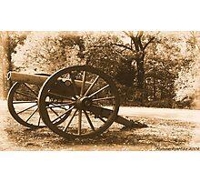 #611    Civil War Cannon Photographic Print