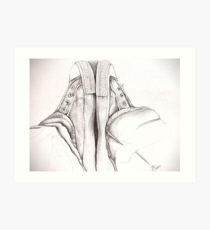 Favoured Footwear Art Print