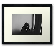 read your book Framed Print