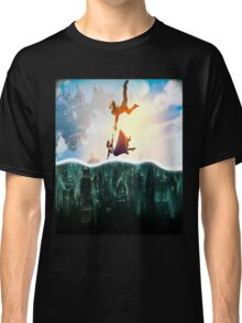 Bioshock Two Worlds Collide Classic T-Shirt