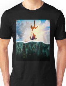 Bioshock Two Worlds Collide Unisex T-Shirt