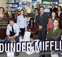Greetings From Dunder Mifflin! by gpunch