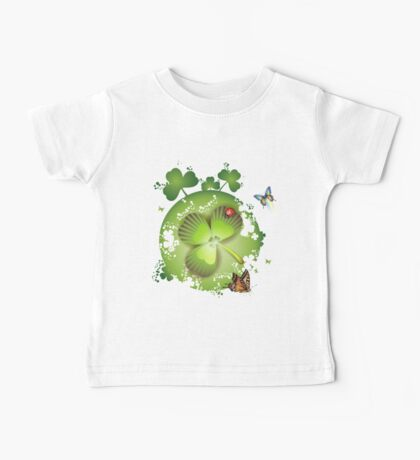 Clover - St Patricks Day Baby Tee