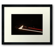 680 freeway passing through Livermore Framed Print