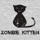 Zombie Kitten by psygon