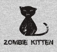 Zombie Kitten by psygon