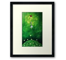 Rise above it Framed Print