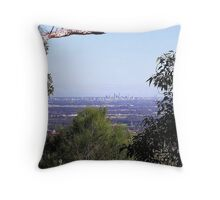 Perth from the hills Throw Pillow