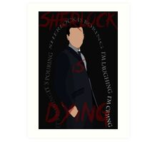 Jim Moriarty (Season 3, Episode 3) Art Print