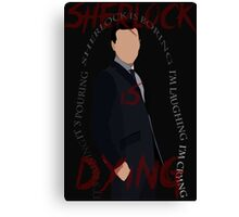 Jim Moriarty (Season 3, Episode 3) Canvas Print