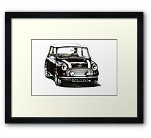 1991 Rover Mini Cooper  Framed Print