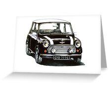 1991 Rover Mini Cooper  Greeting Card