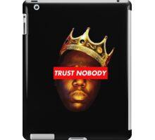 Biggie Smalls 'Trust Nobody' iPad Case/Skin