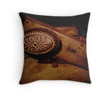 Unlock Your History Throw Pillow