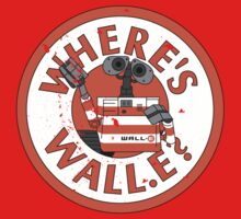 Where's Wall-e? One Piece - Short Sleeve