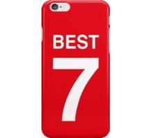 GEORGE BEST iPhone Case/Skin