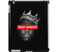 Biggie Smalls 'Trust Nobody' (BLK&WHT) iPad Case/Skin