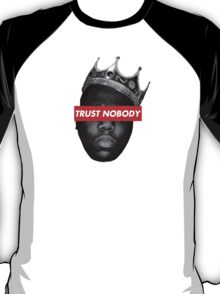 Biggie Smalls 'Trust Nobody' (BLK&WHT) T-Shirt