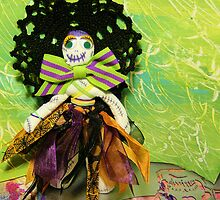 Bride of Halloween Doll by Amy Ronhovde
