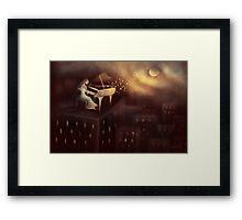 Moonlight Symphony Framed Print