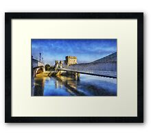 Conwy Suspension Bridge Framed Print