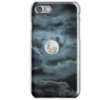 The Cloud Moon iPhone Case/Skin