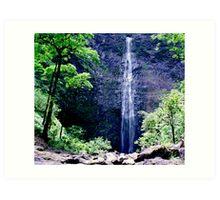 Hanakapiai Falls Art Print