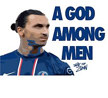 Zlatan Ibrahimovic by crossesdesign