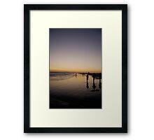 Seal Beach Framed Print