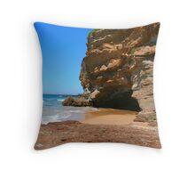 Caves Beach 2 Throw Pillow