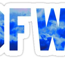 Big Sean 'IDFWU' Cobalt Clouds Sticker