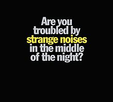 Ghostbusters - Are you troubled by strange noises in the night? by Call-me-dickie