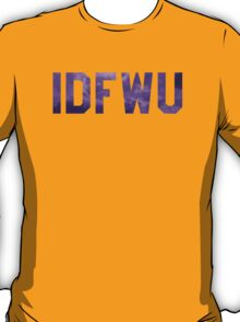 Big Sean 'IDFWU' Purple Clouds T-Shirt