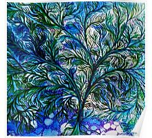 Organic Tree Of Life Poster