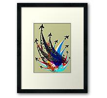 Sabre Flight Framed Print