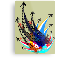 Sabre Flight Metal Print