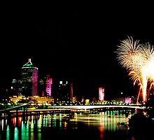 Riverfire by ImageGem