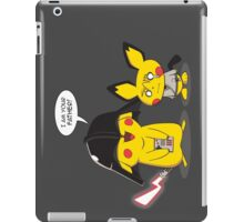 PikaVader Strikes Back! Cover iPad Case/Skin