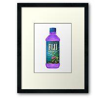 FIJI LEAN Framed Print