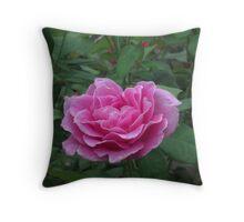 Fragrant Memories rose blossom Throw Pillow